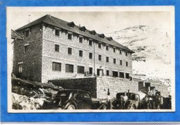66  .LES   SPORTS  D ' HIVER  à  PUYMORENS  , Le  Grand  Hôtel  Du  Col  .  Cpsm  9 X 14 - Autres Communes