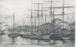 Anvers - Voiliers En Partance, Dans Le Bassin Napoléon. - Belgique