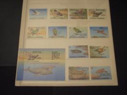 ANTIGUA - 1993 ANIMALI 12 VALORI + BF - NUOVI(++) - Antigua E Barbuda (1981-...)
