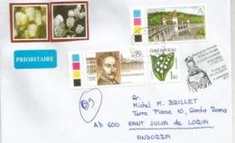 Belle Lettre De Rep.Tchèque 2019, Adressée Andorra, Avec Timbre à Date Arrivée Illustrée - Tchéquie