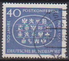 BRD 1963 MiNr.398  100.Jahrestag Der Ersten Internationalen Postkonferenz, Paris ( A669 ) Günstige Versandkosten - BRD