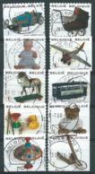België OBP Nr:  3754 - 3763 Gestempeld / Oblitérés - Speelgoed - Belgium