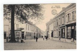 5. - Hamme  Rue De L'Eglise 1912 - Hamme