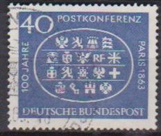 BRD 1963 MiNr.398  100.Jahrestag Der Ersten Internationalen Postkonferenz, Paris ( A671 ) Günstige Versandkosten - BRD