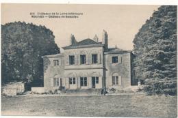 MAUVES - Château De Beaulieu - Mauves-sur-Loire