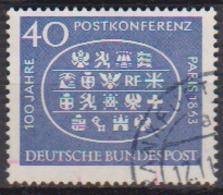 BRD 1963 MiNr.398  100.Jahrestag Der Ersten Internationalen Postkonferenz, Paris ( A672 ) Günstige Versandkosten - BRD