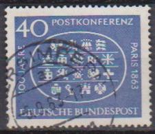 BRD 1963 MiNr.398  100.Jahrestag Der Ersten Internationalen Postkonferenz, Paris ( A673 ) Günstige Versandkosten - BRD