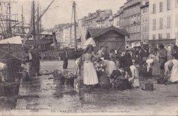 Marseille Débarquement Du Poisson Sur Le Port - Old Port, Saint Victor, Le Panier