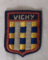 Ecusson Blason Armoiries VICHY  Souvenir Tissu - Ecussons Tissu