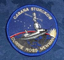 ECUSSON Tissu NASA - Cabana Sturckow Currie Ross Newman - Ecussons Tissu