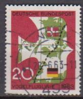 BRD 1963 MiNr.399 Einweihung Der Vogelfluglinie Deutschland - Kopenhagen ( A675 ) Günstige Versandkosten - BRD