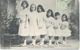Prinzessin  Maria Adelheid , Charlotte ,Hilda ,Antinia, Elisabeth,Sophie. - Grand-Ducal Family