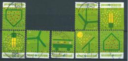 België OBP Nr:  3911 - 3915 Gestempeld / Oblitérés - 8 Verschillende Zegels - Leefmilieu - Belgium