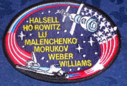 ECUSSON Tissu NASA - Halsell Horowitz Lu Malenchenko Morukov Weber Williams - Ecussons Tissu