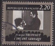 Cinéma, Films - FRANCE - Cinquantenaire De La Cinémathèque - François Truffaut - N° 2442 - 1986 - Used Stamps