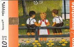 SWITZERLAND - Pro Juventute Kinder ,05/00 ,10+5 Fr, Used - Zwitserland