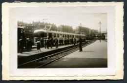Photo Richard Du Mont Dore - 1937 - Autorail Rapide Grande Banlieue - Voir 2 Scans Larges - Treinen