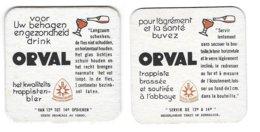 214a Orval Tekst Nederlands Rv Tekst Frans - Beer Mats