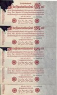 ALLEMAGNE 500000 MARK 1923 XF+(tache D'encre) P  ( 5 Billets ) - [ 3] 1918-1933: Weimarrepubliek