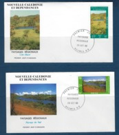 "Nle-Caledonie FDC YT 525 & 526 "" Paysages "" Enveloppes 29.10.86 Nouméa - Briefe U. Dokumente"