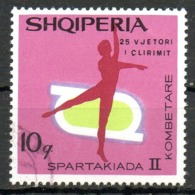 ALBANIE. N°1193 Oblitéré De 1969. Gymnastique. - Gymnastics