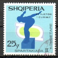 ALBANIE. N°1196 Oblitéré De 1969. Natation. - Swimming