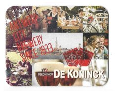 221a  Brij. De Koninck Antwerp City Brewery Since 1833 - Sous-bocks
