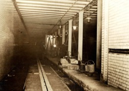 UNDERGROUND TRAMWAY LONDON RAILWAY TRAIN TREN CHEMIN DE FER 15*11CM Fonds Victor FORBIN 1864-1947 - Trenes
