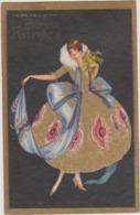 CP Illustrateur T. CORBELLA Femme Art Nouveau 3019 - Corbella, T.