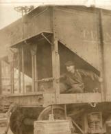 USA  RAILWAY TRAIN TREN CHEMIN DE FER 15*11CM Fonds Victor FORBIN 1864-1947 - Trenes