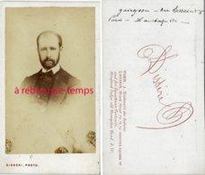 CDV Homme Identifié à Déchiffrer-photo Disdéri à Paris - Old (before 1900)