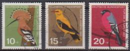 BRD 1963 MiNr.401,402,403 Jugend: Einheimische Vögel ( A684 ) Günstige Versandkosten - BRD
