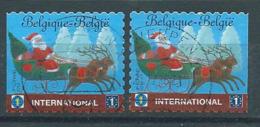 België OBP Nr: 4088 - 4088a Gestempeld / Oblitérés - Kerstmis En Nieuwjaar - Belgique
