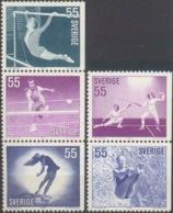 --- 1972 Suède Y. 716 / 720** M. 737 / 741** - Suède