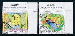"BOSNIEN - HERZEGOWINA ( Serbische Republik ) Mi.Nr. 366-367 A  EUROPA CEPT ""Integration"" 2006 - Used - Europa-CEPT"