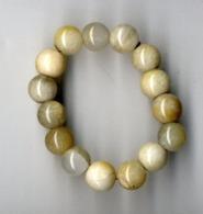 BRACELET  JADE CLAIR  14 PIERRES     TRES BEAU - Bracelets