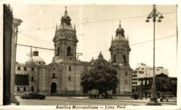 PERU. LIMA. BASILICA METROPOLITANA - Perú