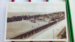 CPA. MARINE PARK GARDENS - BOGNOR REGIS - 1952 écrite Timbre - SUSSEX ENGLAND - Bognor Regis