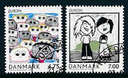 """DÄNEMARK Mi.Nr. 1444-1445   EUROPA CEPT """"Integration"""" 2006 - Used - 2006"""