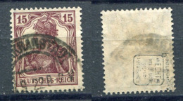 Deutsches Reich Michel-Nr. 142b Gestempelt - Geprüft - Oblitérés