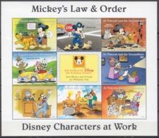1996St Vincent & Grenadines3797-804KLWalt Disney / Law & Order - Disney