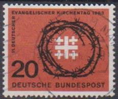 BRD 1963 MiNr.405 Deutscher Evangelischer Kirchentag ( A686 ) Günstige Versandkosten - BRD