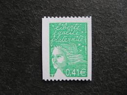 TB N° 3458 A , Timbre De Roulette, Numéro Rouge Au Verso, Neuf XX. - Neufs