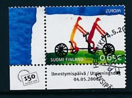 """FINNLAND Mi.Nr. 1810   EUROPA CEPT """"Integration"""" 2006 - Used - 2006"""
