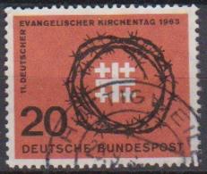 BRD 1963 MiNr.405 Deutscher Evangelischer Kirchentag ( A687 ) Günstige Versandkosten - BRD