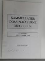 SAMMELLAGER DOSSIN - KAZERNE MECHELEN DOOR PATRICK VERWERFT - Philatelie Und Postgeschichte