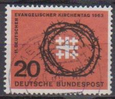 BRD 1963 MiNr.405 Deutscher Evangelischer Kirchentag ( A688 ) Günstige Versandkosten - BRD