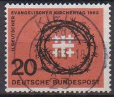 BRD 1963 MiNr.405 Deutscher Evangelischer Kirchentag ( A689 ) Günstige Versandkosten - BRD