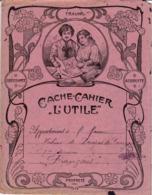 """C  L Protège-cahiers Illustrés >   """"L'Utile""""   (N= 1) - Book Covers"""