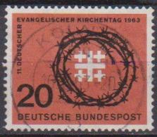 BRD 1963 MiNr.405 Deutscher Evangelischer Kirchentag ( A690 ) Günstige Versandkosten - BRD